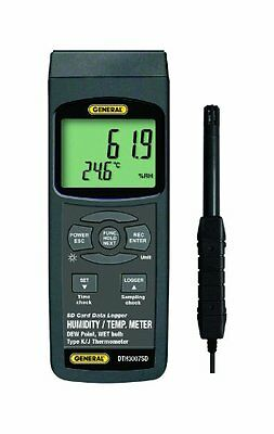 General Tools DTH3007SD Data Logging Thermo-Hygrometer with