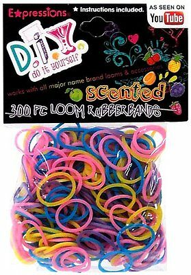 Expressions Girl / D.I.Y. 300-piece Scented Latex-free Rubbe