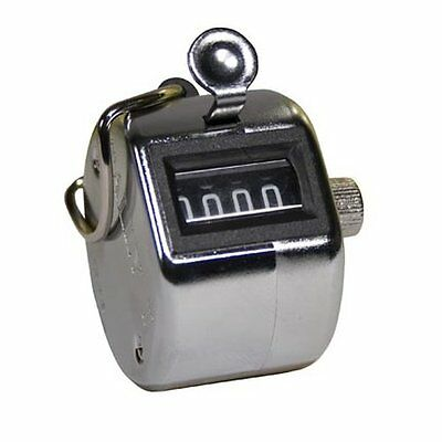 ADVANTUS Tally I Hand Model Chrome Tally Counter with Finger