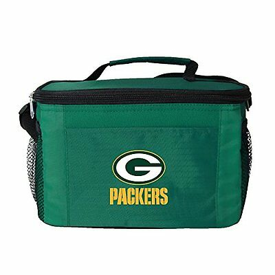 NFL Green Bay Packers Insulated Lunch Cooler Bag with Zipper