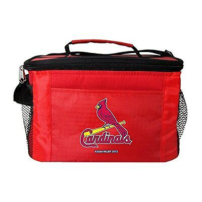 MLB St. Louis Cardinals Insulated Lunch Cooler Bag with Zipp
