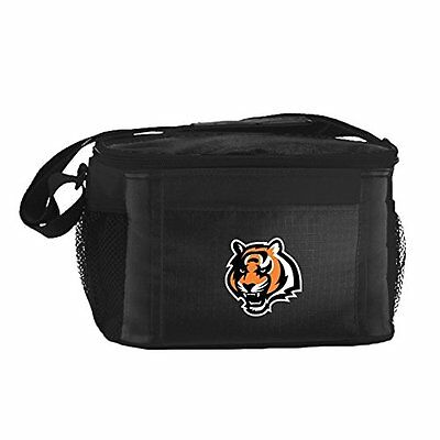 NFL Cincinnati Bengals Insulated Lunch Cooler Bag with Zippe