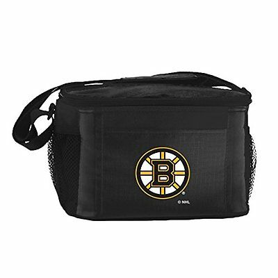 NHL Boston Bruins Insulated Lunch Cooler Bag with Zipper Clo