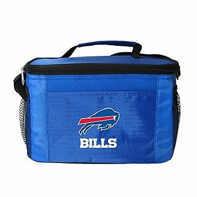 NFL Buffalo Bills Insulated Lunch Cooler Bag with Zipper Clo
