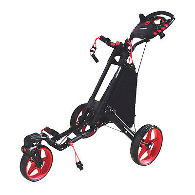 Walkinshaw Swivel 2.0 Golf Buggy  - Charcoal/red - New - Awesome Value!!