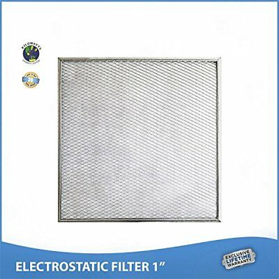 Washable Permanent Lifetime Warr. 13x20x1 Electrostatic Furnace A//C Air Filter