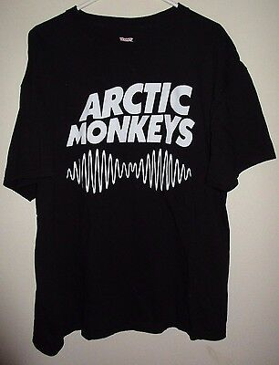 ARCTIC MONKEYS xl SHIRT rock concert indie 2014 pittsburgh new york cleveland