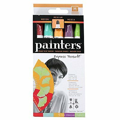Elmer's Painters Acrylic Medium Tip Paint Markers, Eastern Empire Colors, S