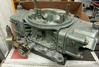 750 Holley HP alcohol double pump carb