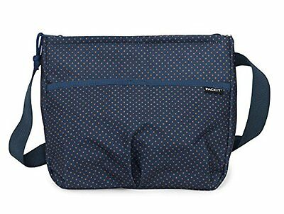 PackIt Freezable Carryall Lunch Bag, Micro Dots