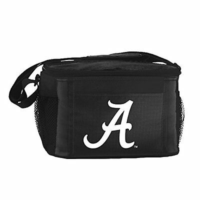 NCAA Alabama Crimson Tide Insulated Lunch Cooler Bag with Zi