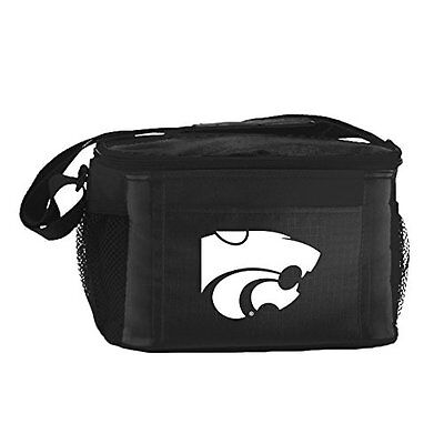 NCAA Kansas State Wildcats Insulated Lunch Cooler Bag with Z
