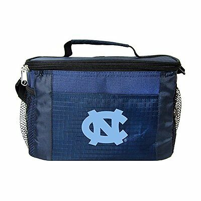 NCAA North Carolina Tar Heels Insulated Lunch Cooler Bag wit