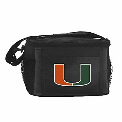 NCAA Miami Hurricanes Insulated Lunch Cooler Bag with Zipper