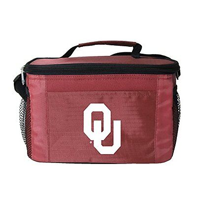 NCAA Oklahoma Sooners Insulated Lunch Cooler Bag with Zipper