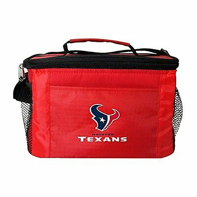 NFL Houston Texans Insulated Lunch Cooler Bag with Zipper Cl