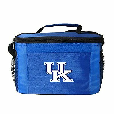 NCAA Kentucky Wildcats Insulated Lunch Cooler Bag with Zippe