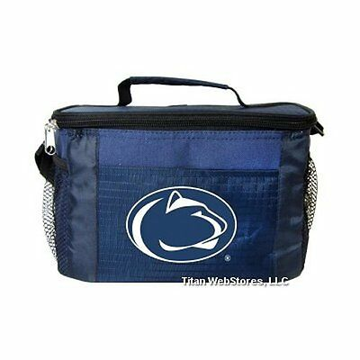 NCAA Penn State Nittany Lions Insulated Lunch Cooler Bag wit