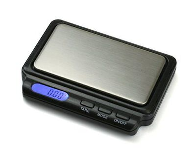American Weigh Scale Card2-100-gry AAA Battery Card Scale, G