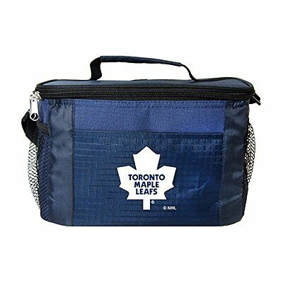 NHL Toronto Maple Leafs Insulated Lunch Cooler Bag with Zipp
