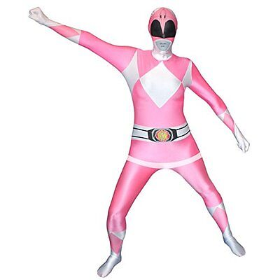 Official Pink Power Ranger Morphsuit Costume - size XXLarge