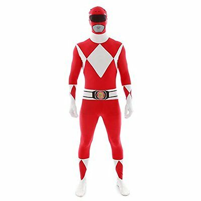 Official Red Power Ranger Morphsuit Costume - size Xlarge -