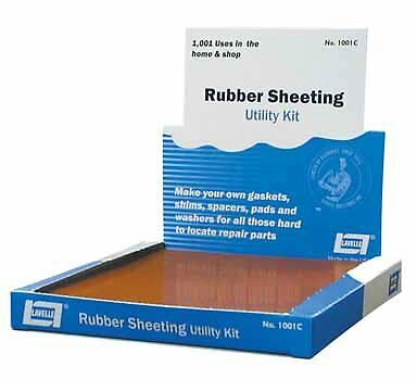 Lavelle Red Rubber Sheet Packing Utility Kit