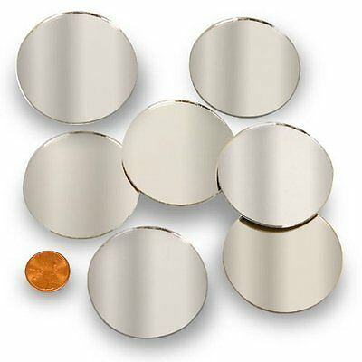 "Round 2"" Mini Mirror Can Be Used in Many Craft Projects & Mo"