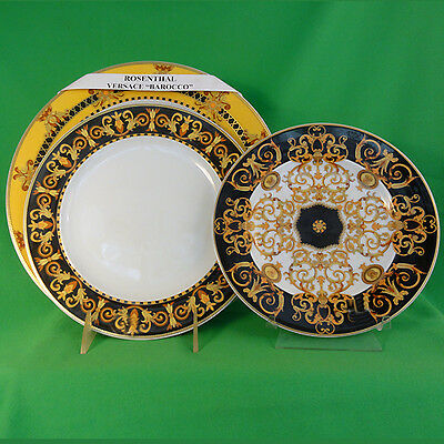 BAROCCO Versace for Rosenthal dinnerware-DINNER-SALAD-BREAD & BUTTER NEW IN BOX
