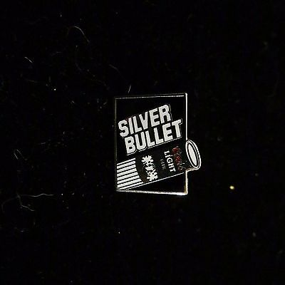 Coors Light Silver Bullet Pin Beer