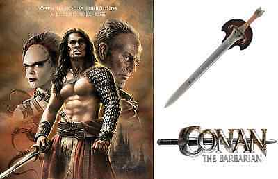 Conan the Barbarian Father's Sword with wall plaque