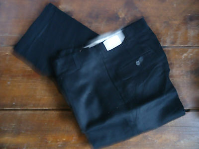 NOS TEEN 60s VTG TAPERED  IVY PREPPY TWILL CUFF CHINOS PANTS 29x25 USA WPL 5493