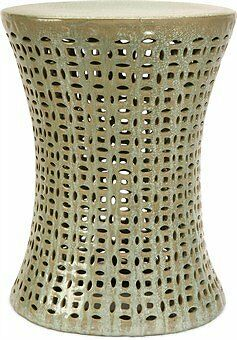 IMAX Corporation Moers Cutwork Garden Stool