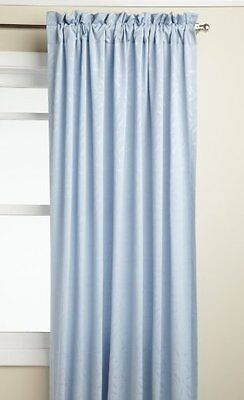 Lorraine Home Fashions Whitfield 52-inch by 63-inch Window Panel, Blue