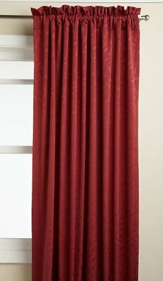 Lorraine Home Fashions Whitfield 52-inch by 84-inch Window Panel, Wine