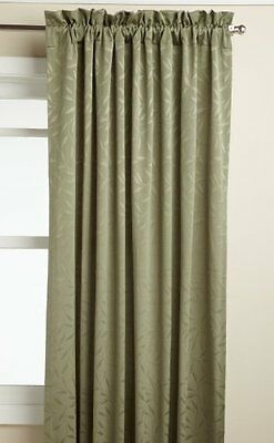 Lorraine Home Fashions Whitfield 52-inch by 72-inch Window Panel, Sage