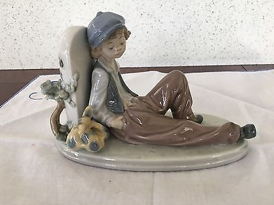 "Lladro ""Time to rest"" Figurine - #5399"