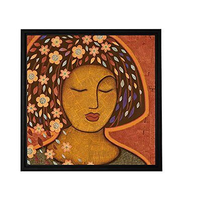 ArtWall Gloria Rothrock 'Kali' Floater Framed Gallery Wrapped Canvas, 36 by
