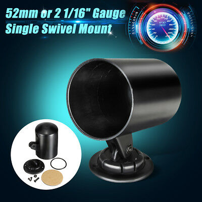 "2"" 52mm Universal ABS Plastic Car Gauge Meter Pod Mount Holder Cup Black AU"