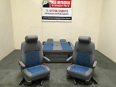 Volkswagen VW T5 California Swivel Seats Rock & Roll Bed