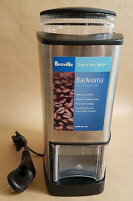Breville BarAroma BCG450 Coffee and Spice Grinder