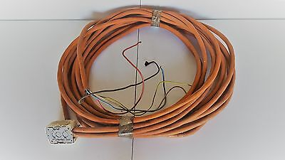 3 Phase orange electrical cable (Aust) - 4 core+E (16LM + 5LM)