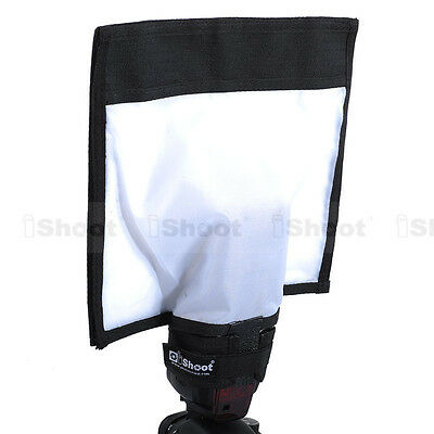 New Foldable Reflector/Reflective Speedlite Snoot/Sealed Flash Softbox Diffuser