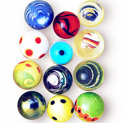 12 x Handmade and Special Marbles