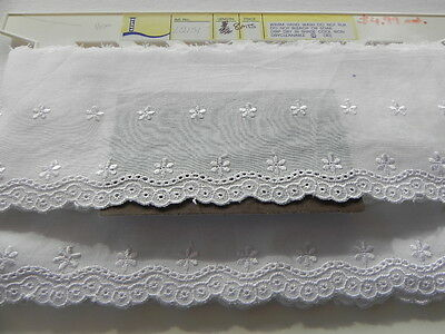 Card of New Brodierie Anglaise - White B