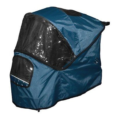 Pet Gear Weather Cover for Special Edition Pet Stroller, Blueberry