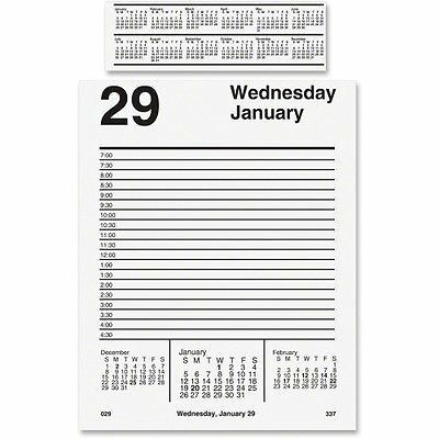 AT-A-GLANCE Products - AT-A-GLANCE - Tear-Off Daily Desk Calendar Refill, 5