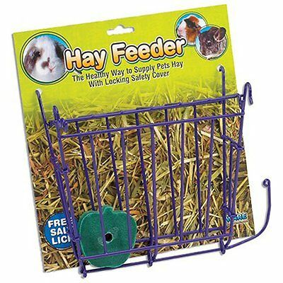 Ware Manufacturing Hay Feeder with Free Salt Lick