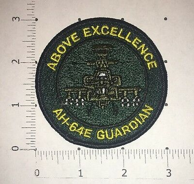 AH-64 Apache Guardian Helicopter Patch - Boeing - US Army Attack Helicopter