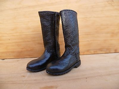 Vintage Old Unusual Sales Mans? Small Size Boots, German Style (C501)